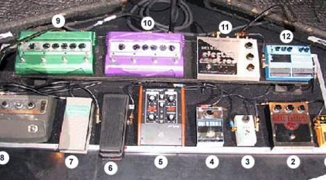 Pedalera Frusciante 2004