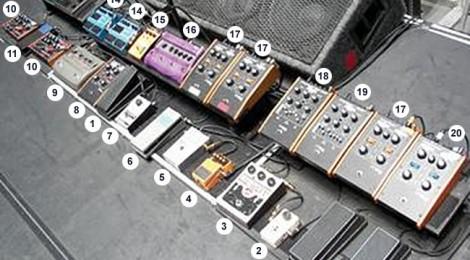 Efectos John Frusciante Stadium Arcadium