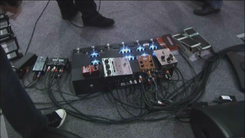Efectos que usa David Gilmour en directo