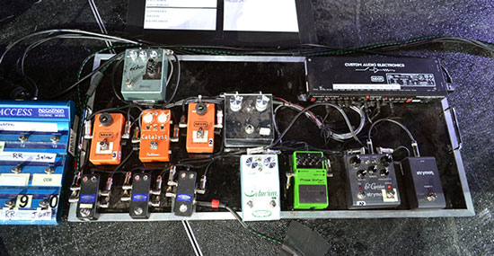 Pedalera de Billy Corgan