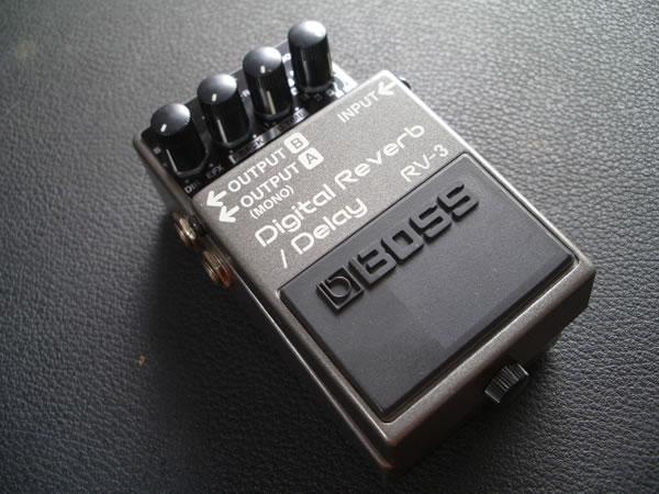 Reverb/Delay Boss RV-3