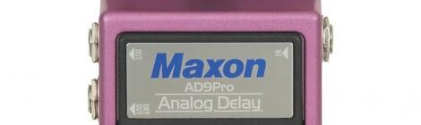 Maxon AD-9 Analog Delay Pro