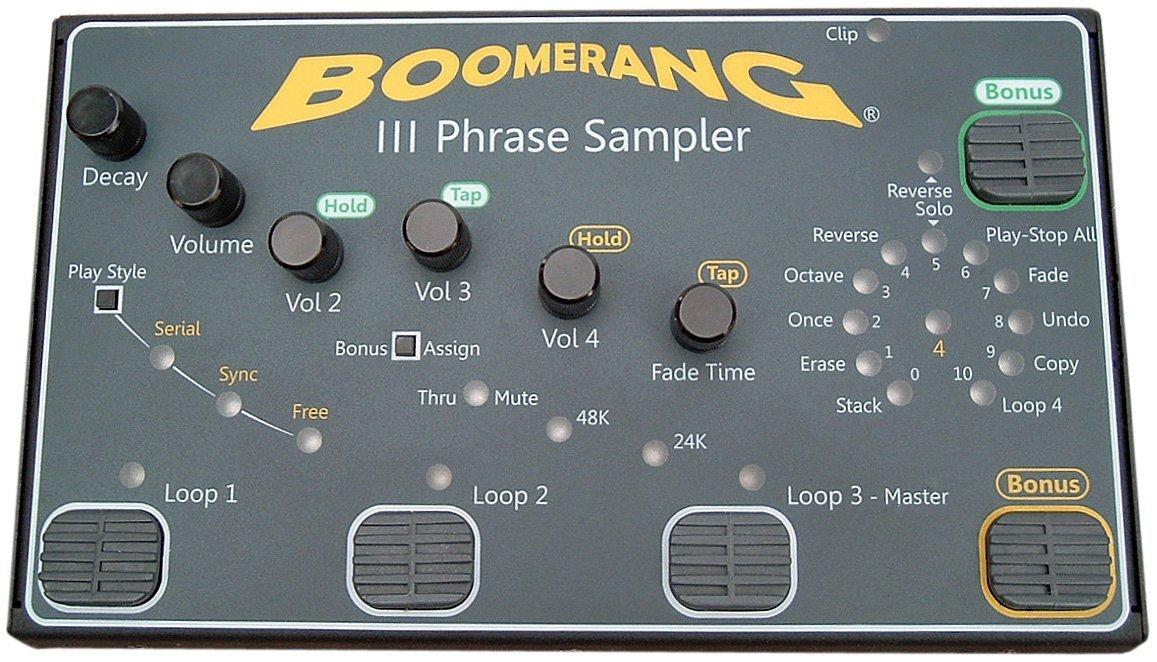 Boomerang Pedal de loops