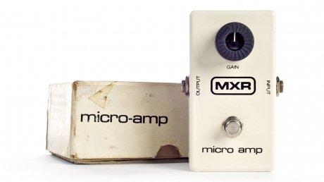 Efecto MXR micro Amp Booster